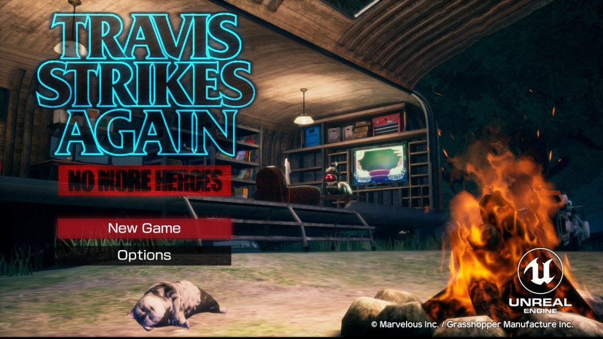 Travis Strikes Again: No More Heroes review – Gameception