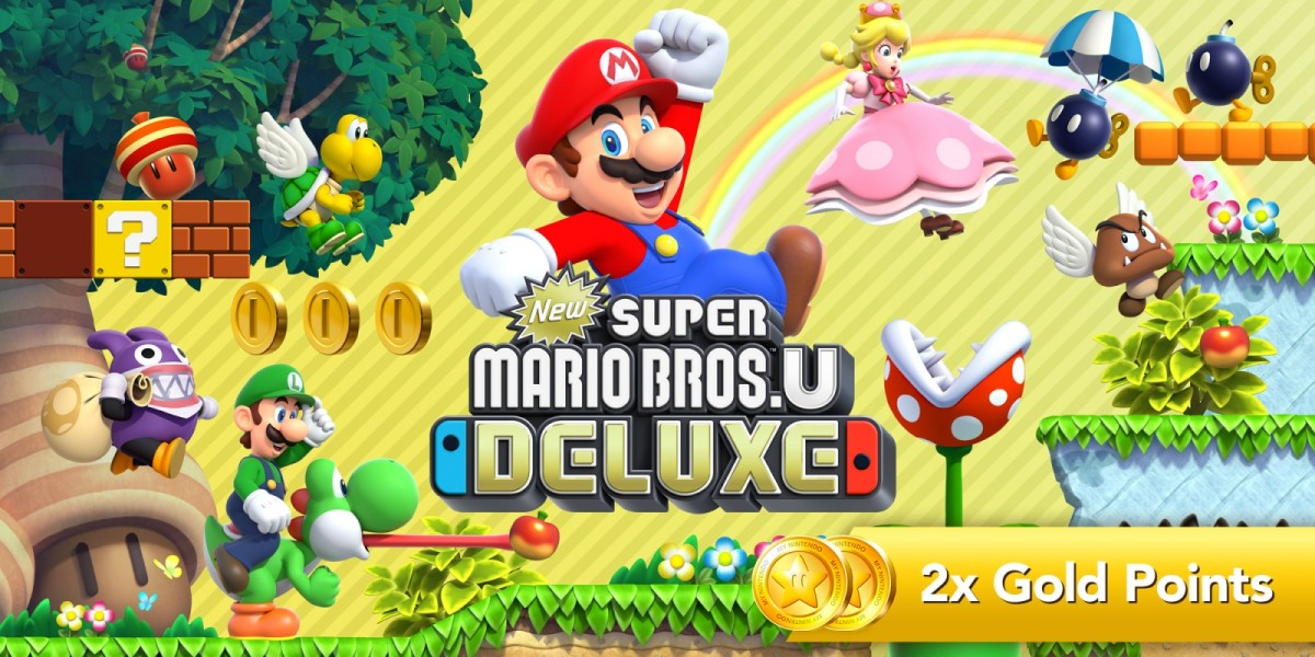 New Super Mario Bros. U Deluxe - a CO-OP Review