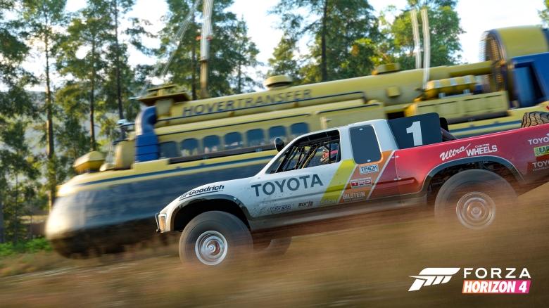 Forza Horizon 4 Hover Craft Race