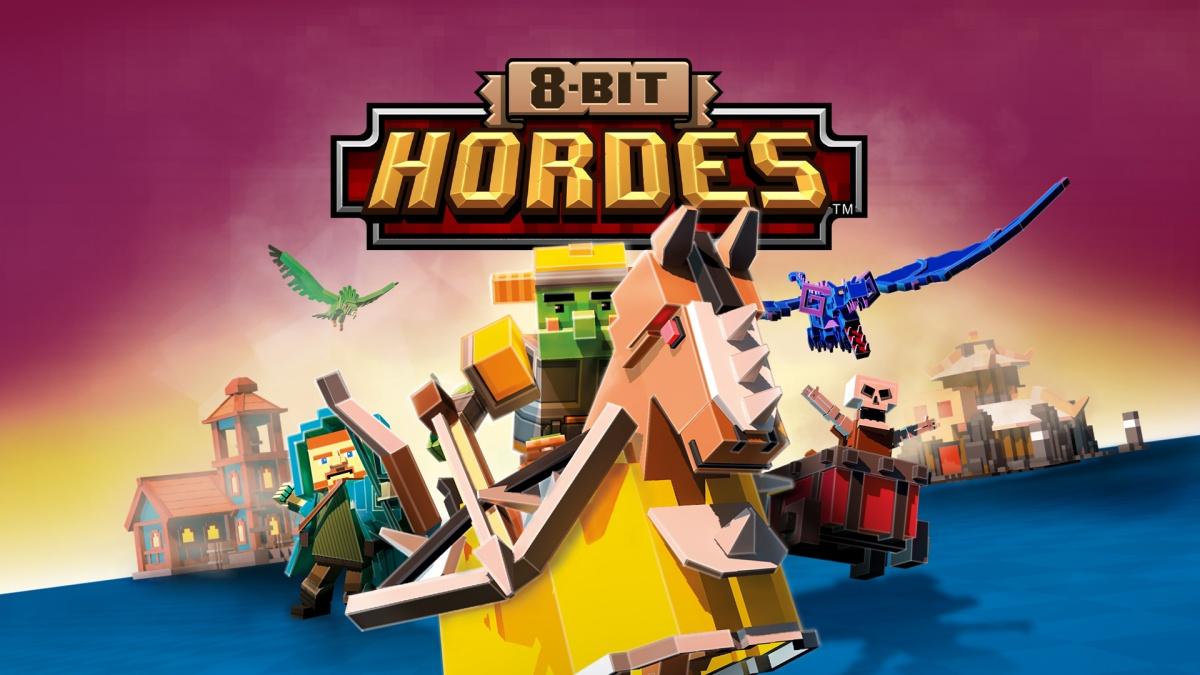 8 Bit Hordes review - We Miss LAN Parties...